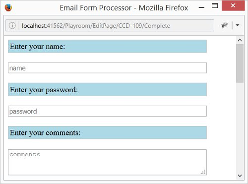 Email Form Processor